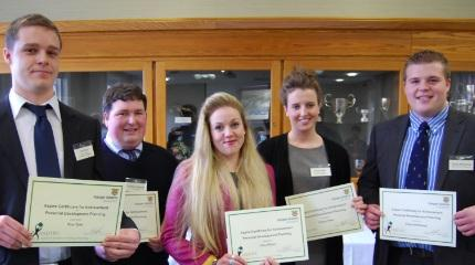 Students presented with placement awards (video)