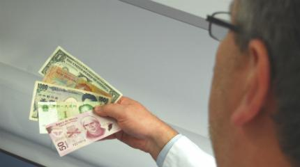 Research investigates bacteria on banknotes