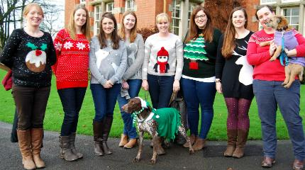 Christmas Jumper Day raises funds for Save the Children