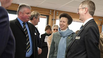 Veterinary and entomology buildings opened by Princess Royal (video)