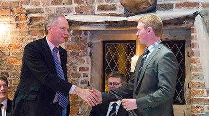 Devenish Chairman speaks at 2015 Harper Ireland society dinner