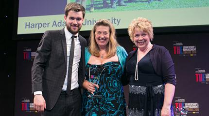Harper Adams wins THE Award for Outstanding International Strategy