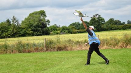 Harper Adams teams up with drone experts