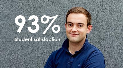 Harper Adams University in top five for student satisfaction