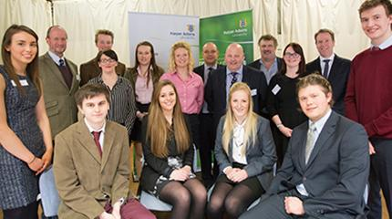 Seven new pig industry scholars preparing for work placements