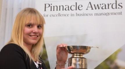Harper Adams University student wins 2016 Pinnacle Awards
