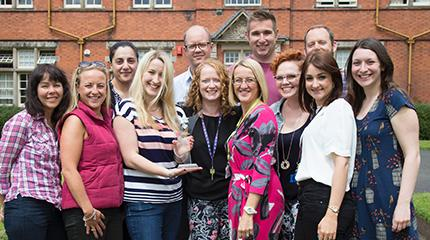 University team wins national award for outstanding work