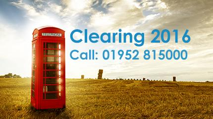 Harper Adams open for Clearing with a range of courses available