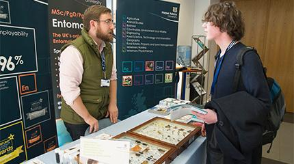 Public invited to 'hand-ons' entomology afternoon at Harper Adams University