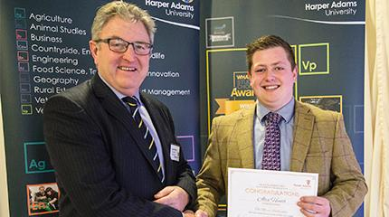 Winner of Cogent Beef Futures competition also awarded scholarships