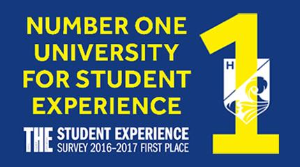 Harper Adams University is the UK's number 1 for student experience