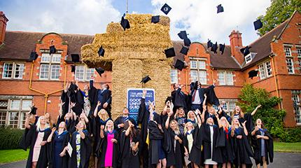 news harper adams is joint best university in england for graduate