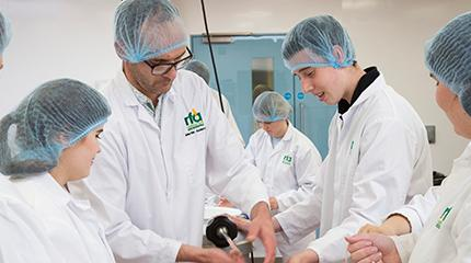 Food science summer school hosted at Harper for Year 12 students