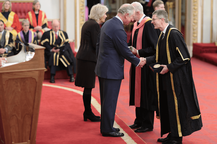 Royal Honour for Harper Adams
