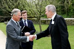 The Prince welcomes Rev Dr Gatward to Highgrove