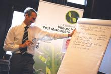 Professor Peter Kettlewell leads afternoon discussions
