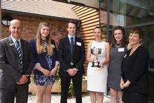 Agrovista finalists with Terry Pickthall and Tracey Winson
