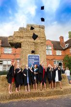 Celebrations after the graduation ceremony