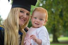 Roisin Talbott and her daughter Ella.(Click to enlarge)