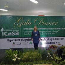Dr Lucy Crockford at ICoSA