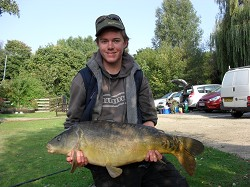 Brad with one of his catches