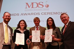 MDS Trainees with Charles Cowap and Doug Henderson
