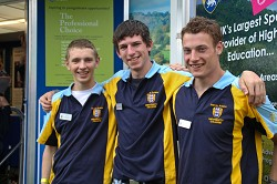 Harper Adams student ambassadors at the Royal Welsh Show