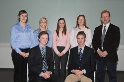 The Syngenta scholars with Rob Farrow, Syngenta Area Manager