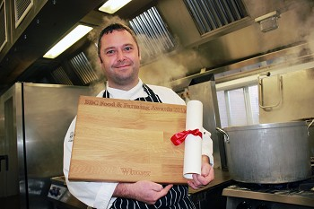 Wayne Wright, the UK's 'Best Public Caterer'