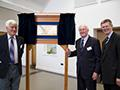 Lord Plumb opens new halls at Harper Adams University