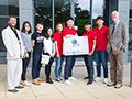 Robotics research shared with South Korean visitors during European tour