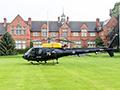 RAF helicopter plays key role in Harper Adams drone test