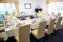 Conference dining room