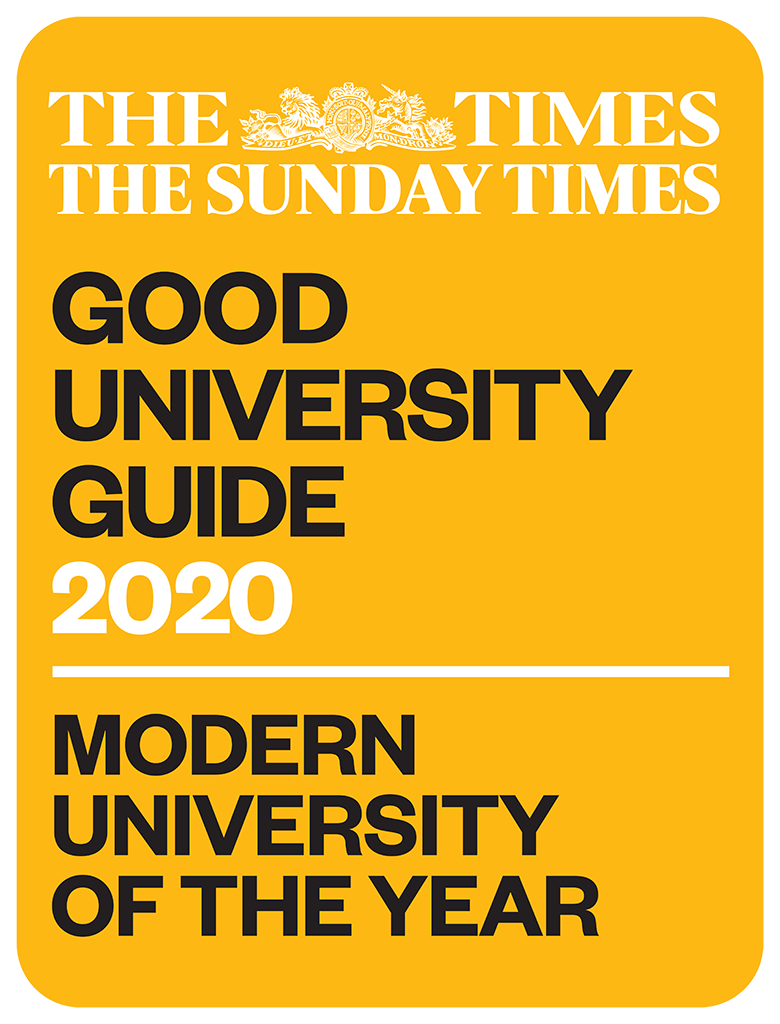 The Times and The Sunday Times Modern University of the Year award logo
