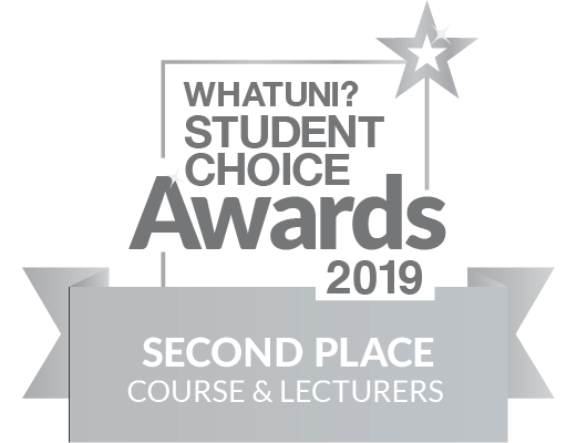 WhatUni Student Choice Award - Courses and Lecturers 2019