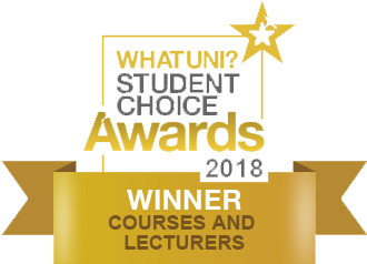 WhatUni Student Choice Award - Courses and Lecturers 2018