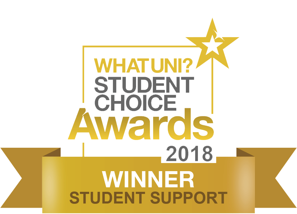 WhatUni Student Choice Award - Student Support 2018
