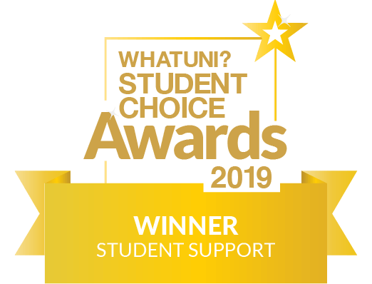 WhatUni Student Choice Award - Student Support 2019