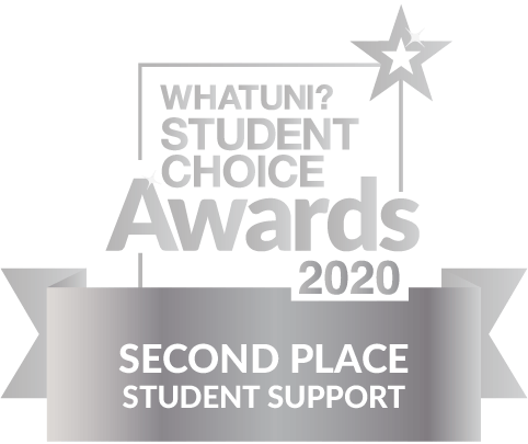 WhatUni Student Choice Award - Student Support 2020