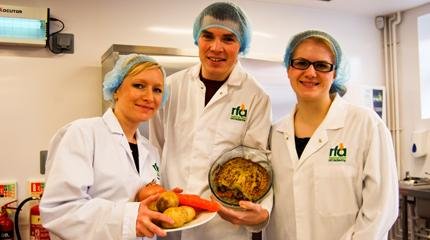 Students develop ready meal for European food competition