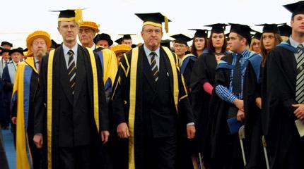 Key figures awarded Honorary Degrees and Fellowship (video)