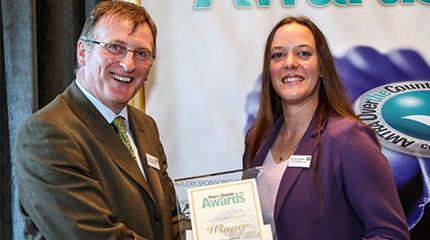 Industry award sponsored by Harper Adams