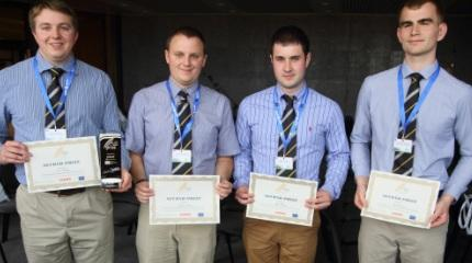 Engineering students win technology prize