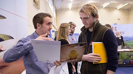 More than 90 employers at Careers Fair 2014 (video)