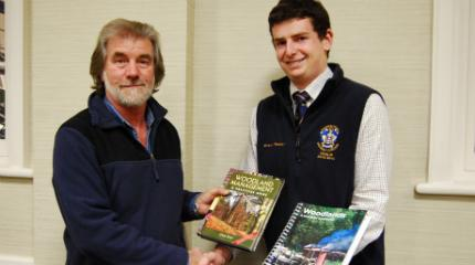 Book prize for top forestry student