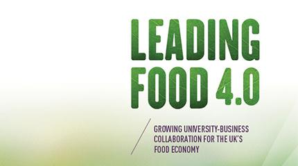 Leading Food 4.0 report highlights Harper Adams successes