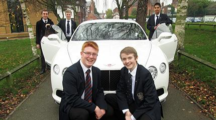 Bentley engineer goes back to school to inspire next generation