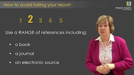 How To Avoid Failing Your Report
