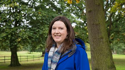 MRes student Rachel unites with Woodland Trust for tree projects
