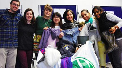 Students collect much-needed donations for Calais refugees
